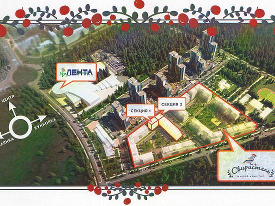 Как будет выглядеть новый жилой комплекс Петрозаводска