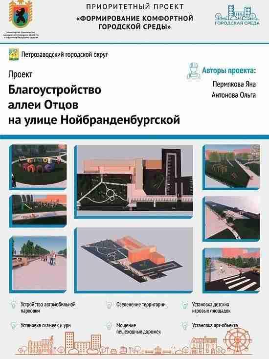 Красота: выяснилось, как хотят благоустроить Петрозаводск горожане